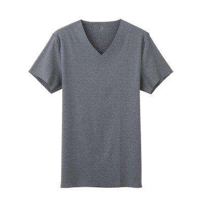 画像4: グンゼ CUT OFF VネックTシャツ